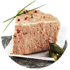 Tranches de rillettes de porc (40g)