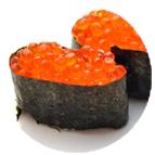 Gunkan d'oeufs de saumon