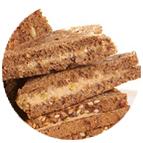 Sandwiches rillettes de canard et pistaches