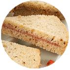 Sandwiches rillettes de canard