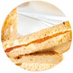 sandwiches au tarama