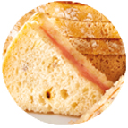 sandwiches saumon fumé et beurre citron