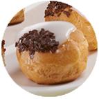 Minis choux vanille