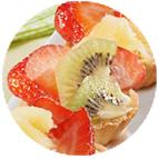 Minis tartelettes aux fruits