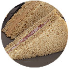 Sandwiches Breton : sardinade au citron