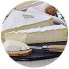 Brie de MeauxRenard Gillard Appellation d'Origine Protégée (au lait cru de vache - 200g)