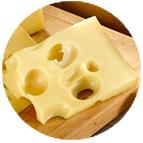 Emmental de SavoieIndicatiion Géographique Protégée (au lait cru de vache - 200g)