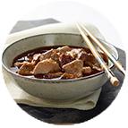Porc au caramel et riz Thaï (350g)