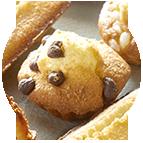 Mini-muffins pépites de chocolat