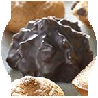 Rochers de coco chocolat