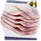 Tranches de jambon cuit avec couenne Carrefour (60g)