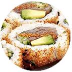 Spicy roll au surimi