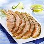 Barquette d'émincés de saumon et aneth (120g)