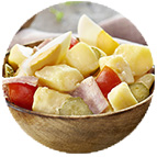 Piémontaise au jambon (part de 65g)
