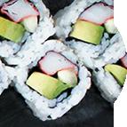 California rolls surimi