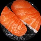 Nigiri sushis saumon