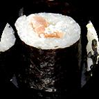Maki saumon fromage crémeux