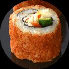 Maki saumon wakame