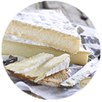 Brie de Meaux 1/2 affiné AOP* RDF*