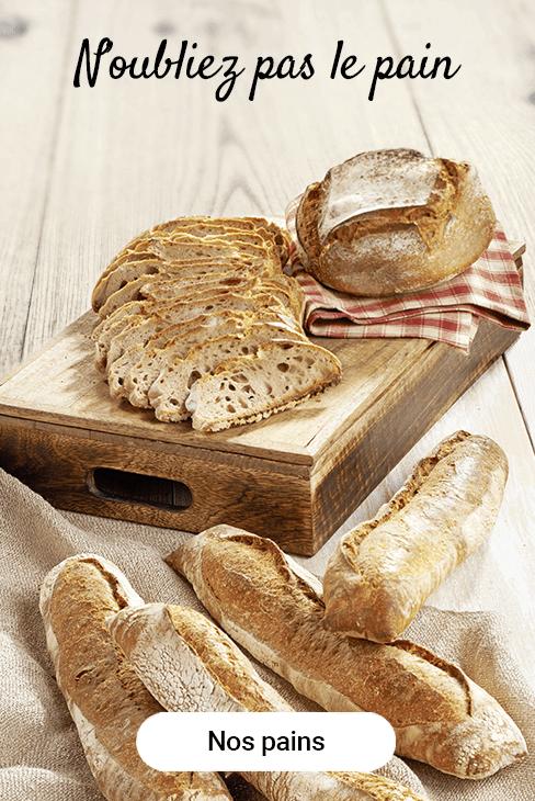N'oubliez pas le pain