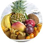 Corbeilles de fruits
