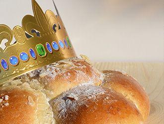 gâteau des Rois brioche