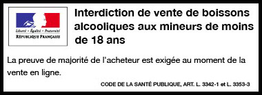 Interdiction de vente d'alcool aux mineurs